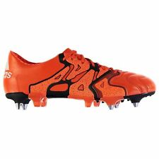 adidas X 15.1 Leather SG Soft Ground Football Boots Mens Or Soccer Shoes Cleats