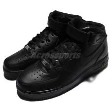 Nike Air Force 1 Mid 07 Black Mens Classic AF1 Shoes Sneakers 315123-001