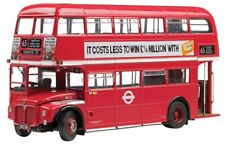 SUNSTAR 2912 2913 ROUTEMASTER diecast models Double decker bus green /red 1:24th