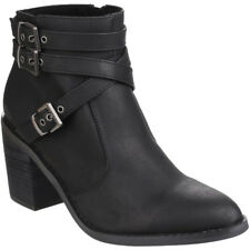 Rocket Dog Womens/Ladies Deon Zip up Faux Leather Ankle Boots