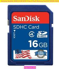 Genuine Sandisk 16GB 16 GB SDHC Class 4 Flash Memory Card SD SDSDB-016G