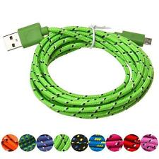 Universal 1M Micro USB Charger Sync Data Cable Cord for Cell Phone Lightgreen