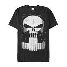 Marvel Halloween Punisher Costume Mens Graphic T Shirt