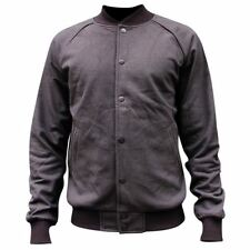 Crooks & Castles Lavish Knit Baseball Jacket Black