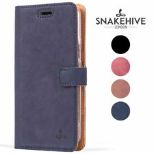Snakehive® Samsung Galaxy S4 Vintage Leather Folio Wallet Phone Case Card Slots