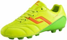 Pro Touch Football Boots Classic HG Children's Yellow Orange Green