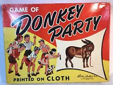Vintage Donkey Party Game Parker Brothers Complete