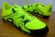 BOYS ADIDAS X 15.3 TF ASTRO TURF FOOTBALL SPORTS CASUAL TRAINERS UK SIZE 11 - 5