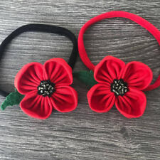 Remembrance Day, Poppy Headband, Poppy Hairband, Poppy Appeal, British Legion,