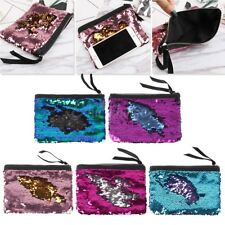Glittery Toiletry Holder Cosmetic Makeup Pouch Bag Organizer Case Purse Wallet