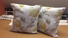 ONE  LAURA ASHLEY HANDMADE CUSHION IN HYDRANGEA CAMOMILE
