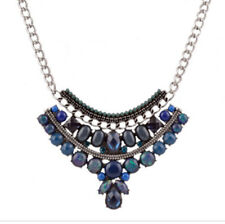Multi Color Resin Beads Necklace for Women