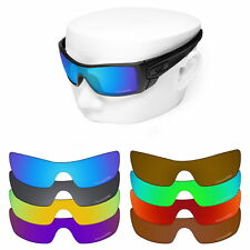 OOWLIT Iridium Replacement Lenses for-Oakley Batwolf Sunglasses Polarized