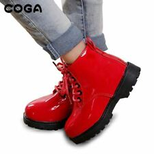 Children's shoes Martin style boots leather waterproof booties girls kids