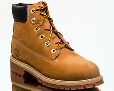 Timberland 6 Inch Premium Waterproof Junior Boots youth shoes NEW wheat 12909