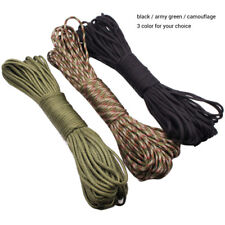 Multifunction 100FT 7Strand Core Paracord Parachute Cord Outdoor Survival Tool