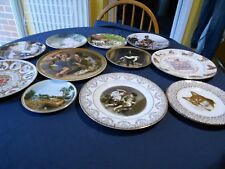 Collectable plates-Royal doulton, Royal Worcester, Wedgwood, Crown