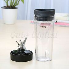 Blade Assembly & 16oz Cup Lids For Ninja Ultima Blender BL660 BL663 BL770 BL771