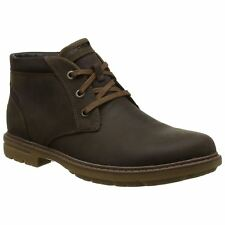 Rockport Tough Bucks Chukka Tan Mens Leather Lace-up Ankle Boots