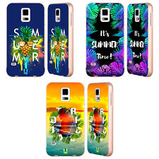 HEAD CASE DESIGNS SUMMER COLLAGE GOLD BUMPER SLIDER CASE FOR SAMSUNG PHONES