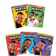 Martin Lawrence: Complete TV Series Seasons 1 2 3 4 5 Deluxe DVD Sets Brand New
