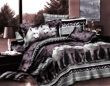 NEW Wolf Duvet Cover Set Quilt/Comforter Cover Twin/Full/Queen Size Pillow Cases