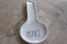 "RAE DUNN ARTISAN COLLECTION BY MAGENTA ""HEART"" SPOON REST(s)"