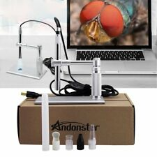 5MP USB 500X 8 LED Digital Microscope Endoscope Magnifier Camera+Lift Stand KP