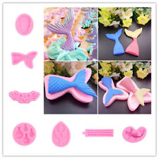Cookie Fondant Cake Sugarcraft Chocolate Decorating Plunger Cutter Mold Silicone