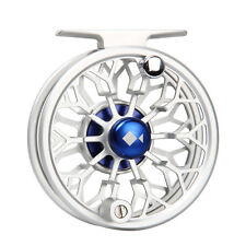 Fly Fishing Reel 3/4 5/6 7/8WT Silver Large Arbor CNC Machined Fly Reel