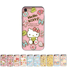 Hello Kitty Slide Card Protect Hard Dual Bumper Case For Apple iPhone 8 / 8Plus