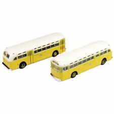 Classic Metal Works N Scale GMC TD 3610 Transit Bus 2-Pack - National City