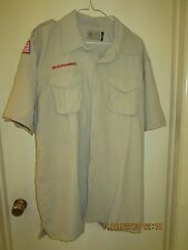BSA/Cub, Boy & Leader Scout Newest Vented Back Uniform Sht.Slv. Shirt-Adult -17