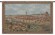 Florence Italian Jacquard Woven Tapestry Textile Art Wall hanging Home Decor