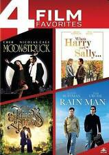 Moonstruck/Rain Man/When Harry Met Sally/Princess Bride (DVD, 2014, 4-Disc Set)