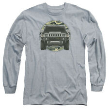 Hummer LEAD OR FOLLOW Licensed Adult Long Sleeve T-Shirt S-3XL
