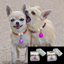 Rolled Slip Pet Puppy Small Dog Necklace Collars for Chihuahua Yorkie Poodle