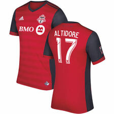 adidas Jozy Altidore Toronto FC Red 2017 Primary Authentic Jersey - MLS