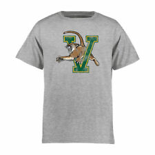 Vermont Catamounts Youth Ash Classic Primary T-Shirt - College
