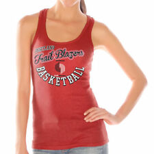 Portland Trail Blazers Women's Red Preseason Ribbed Tank Top - NBA