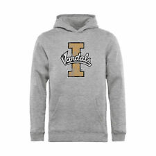 Idaho Vandals Youth Ash Classic Primary Logo Pullover Hoodie - College