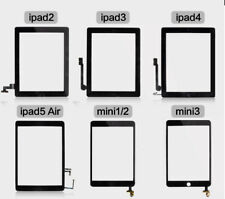 Touch Screen Digitizer Replacement For Apple iPad 2/3/4 & Air - Black / White
