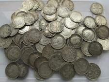 Silver Three pence coins, 1902 - 1941, 3d, threepence, rare