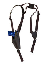 NEW Barsony Vertical Brown Leather Shoulder Holster Ruger Star Full Size 40 45