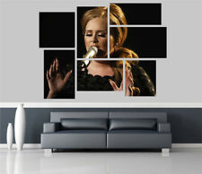 Adele Removable Self Adhesive Wall Picture Poster FP 1133