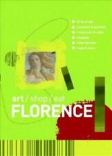ART, SHOP, EAT FLORENCE - NEW PAPERBACK BOOK
