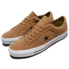 Converse One Star Pro Suede Light Brown White Men Skate Boarding Sneaker 157900C