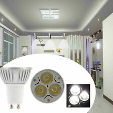 6/12X GU10 4/6W 220V LED Spot Lights Day/Warm White Light Bulbs High Bright Lamp