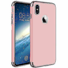 Ultra Thin Hybrid Shockproof Armor Hard Back Case Cover For Apple iPhone X 10