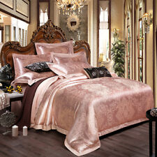 Luxurious Cameo With Noble Mysterious Pattren 4PC Bed Set Queen&King Size
